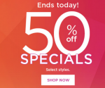 Kohl's: 50% Off Specials! (Ends Tonight)