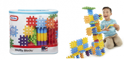 Amazon: Little Tikes 100-Piece Waffle Blocks Bag Only $13.39 (Lowest Price)