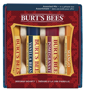 Amazon: Burt's Bees Lip Balm 4-Count Holiday Gift Set Just $5.91 (Ships w/ $25 Amazon Order)