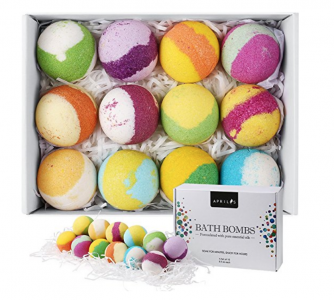 Amazon: Multi-Colored Vegan Bath Bomb Kit (12 Pack) ONLY $14.99