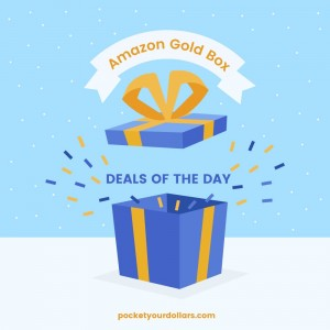 Amazon Gold Box Deals of the Day: Panasonic Bluetooth Cordless Phone, 50% Off BLACK+DECKER Drill, & 25% Off Marmot Products!
