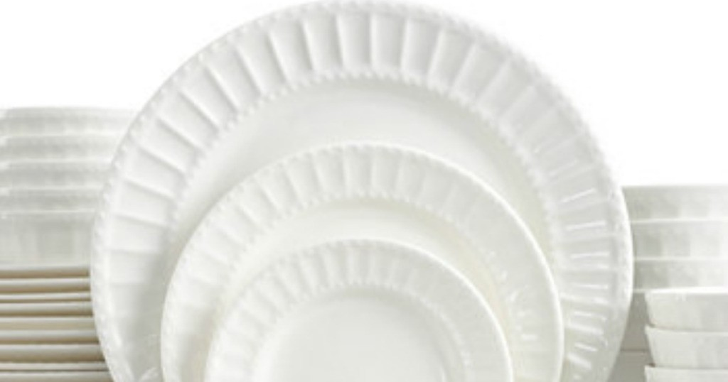 For a limited time hop on over to Macys.com where they have several Gibson Dinnerware Sets on sale for $37.99 (regularly $120)! These dishes are dishwasher ...  sc 1 st  Pocket Your Dollars & Macyu0027s: Gibson 42 Piece Dinnerware Set Only $37.99 (Regularly $120 ...