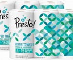 Amazon Prime: Presto Paper Towels HUGE 12 Pack Rolls ONLY $20.61 Shipped