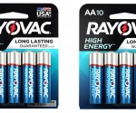 Walmart: Rayovac High Energy AA Batteries 10 Pack Just $2.48!
