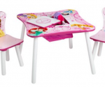 Walmart: Disney Princess Storage Table and Chairs Set Now $39.99! (Reg. $75)