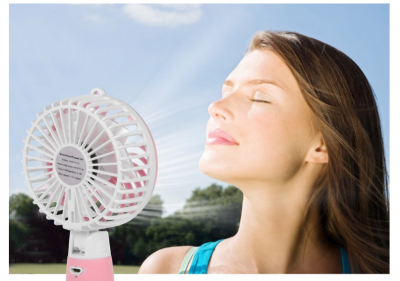 Amazon: Allkeys Mini Handheld Fan ONLY $9.99! (Great Reviews)