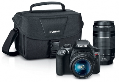 Amazon or Khol's: Canon EOS Rebel T6 Digital SLR Camera Kit Now $449 (Best Price!)