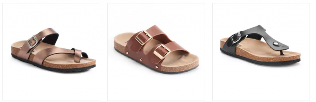82074e80c8806b Kohl s  Women s Mudd Sandals as Low as  7.64 Each (Reg.  24)