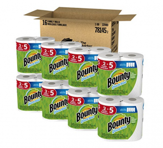 Amazon: Bounty Paper Towels Family Size Rolls (16 ct) Just $30.14 Shipped!
