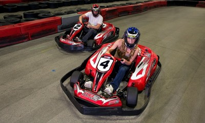 Groupon: Up to 49% Off Indoor Racing at MB2 Raceway (4 Options Available)