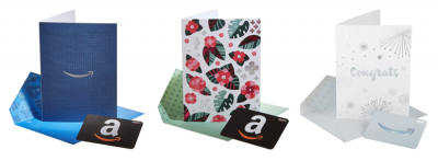 Amazon: Premium Greeting Cards with Anytime Gift Cards (3 Pack) ONLY $0.99!