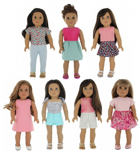 Amazon: Lowest Price on American Girl Doll Clothes!