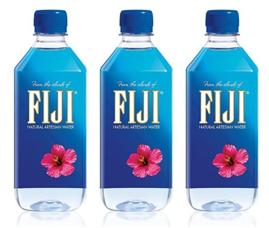 Amazon: FIJI Natural Artesian 16.9oz Water Bottles 24-Pack