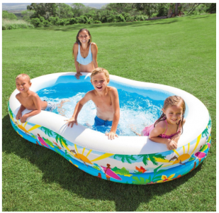Amazon: Intex Swim Center Paradise Inflatable Pool Only $22.53 (Great for Backyard!)