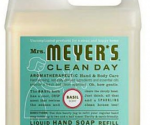 Amazon: Mrs. Meyer's 33-Ounce Liquid Hand Soap Refill in Basil ONLY $4.50 Shipped!
