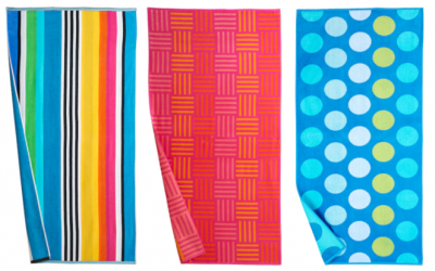 Kohl's: The Big One Reversible Beach Towels As Low As $4.90 Shipped (Reg. $20)