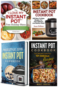 Amazon: Free Instant Pot Cookbook Downloads!
