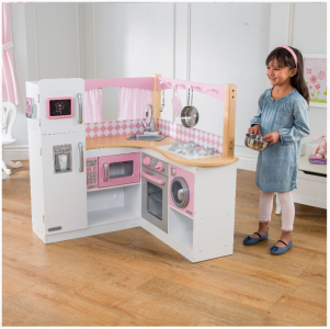 Walmart: KidKraft Grand Gourmet Corner Play Kitchen Now $96.57 (Reg. $199)!