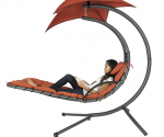 Amazon: Hanging Chaise Lounge Swing with Canopy Just $154.99 (Lowest Price)