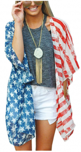 Amazon: American Flag Kimono Only $18.99 (Just in Time for 4th of July!)
