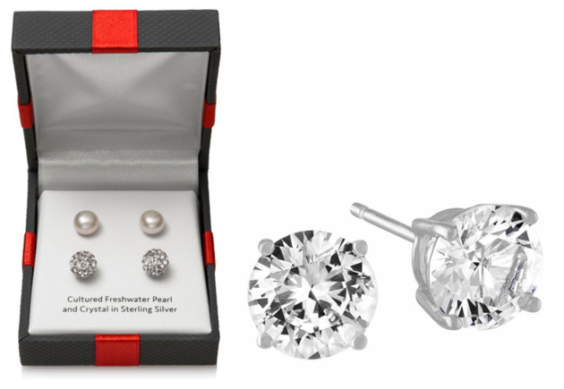 aa10b992c JCPenney: Cultured Pearl & Sterling Silver Earring Set Just $10 (Reg. $50)  + More!