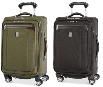 Macy's: Score 25% Savings Pass w/ $3 Donation = Over 70% Off Travelpro Spinner Suitcase