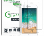 Amazon: 2-Pack Tempered Glass Screen Protector for Apple iPhone 6S, 7, & 8 Plus ONLY $6.79 (Lowest Price!)