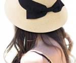 Amazon: Super Cute Bowtie Straw Bucket Sun Hat Only $13.20 (6 Colors!)