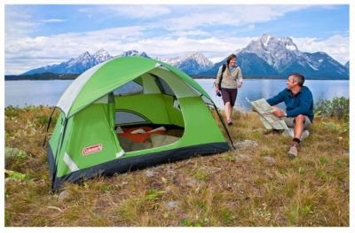Amazon or Walmart: Coleman Sundome 2-Person Camping Tent Only $26.69 (Reg. $70) (Great Reviews)