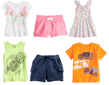 Kohl's: Jumping Beans Boys & Girls Graphic Tees As Low As $1.28 + More!