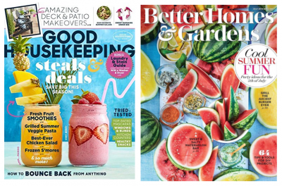 Amazon: Good Housekeeping 1 Year Auto-Renewal Print Magazine Only $6 & More!