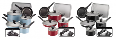 Kohl's: Farberware Cookware Set Just $25! (Reg. $120) (Awesome Reviews)