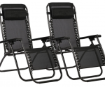Amazon: 2 Black Zero Gravity Lounge Chairs Just $59.99! (Awesome Reviews)