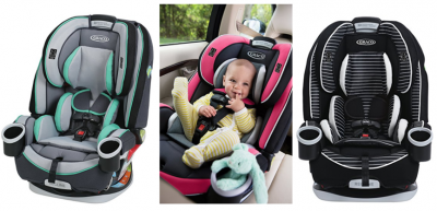 Amazon: Graco 4Ever 4-in-1 Convertible Car Seat Just $199.99 (Reg. $299.99) (Lowest Price!)