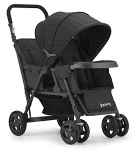 Amazon: JOOVY Caboose Too Graphite Stand-On Tandem Stroller Only $100.60 (Reg. $179.99) (Lowest Price Ever)