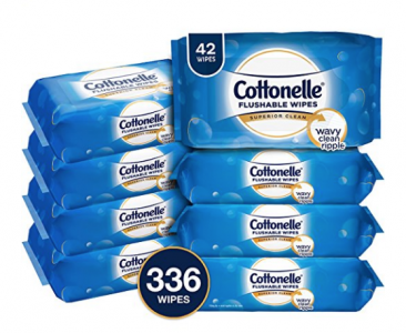 Amazon: Cottonelle Fresh Care Flushable Wipes (336 Ct) Only $10.10 Shipped!