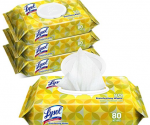 Amazon: Lysol Handi-Pack Disinfecting Wipes, 320ct Only $10.39 ($0.3 Per Wipe)