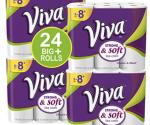 Amazon: VIVA Choose-A-Sheet Paper Towels (24 Big Rolls) Just $20.76 ($0.87 Per Roll!)