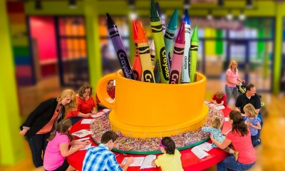 Groupon: Admission for One to the Crayola Experience Mall of America Just $13.99 (Reg. $20.99)