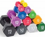 Walmart: CAP Barbell Vinyl-Coated Dumbbells As Low As 75¢! (11 Weight Sizes)