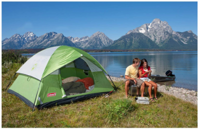 Amazon: Coleman Sundome 4-Person Tent Just $38.99 – Lowest Price!