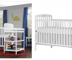Amazon: Dream On Me, 4 in 1 Full Size Crib & Changing Table Combo (White) Only $117.99