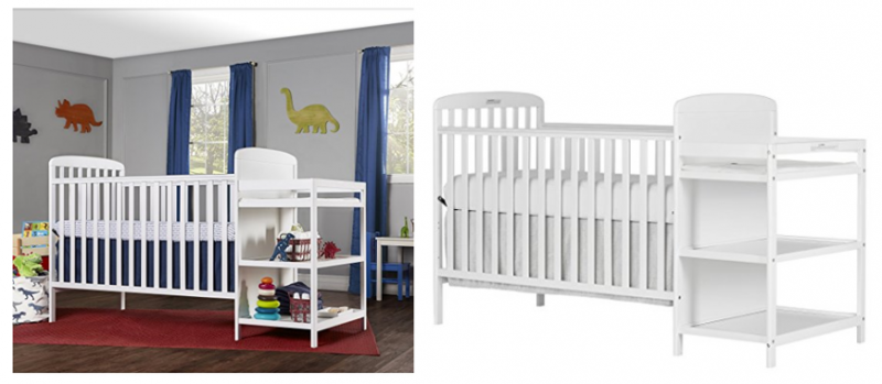 Amazon Dream On Me 4 In 1 Full Size Crib Changing Table Combo