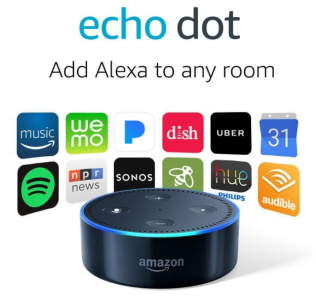 Amazon: Echo Dot 2nd Generation Only $49.99! (Amazon's Choice)