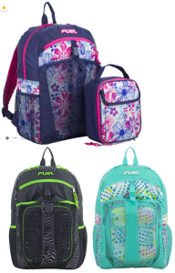 JCPenney: FUEL Kids Backpack & Lunchbox Sets Only $16.99! (5 Color Options)