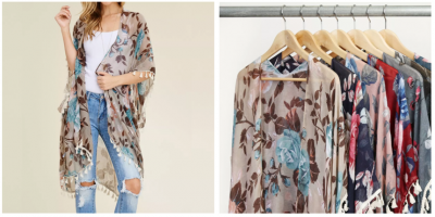 Jane.com: Floral Tassel Kimono Cardigan Only $11.99 Shipped! (Super Cute)