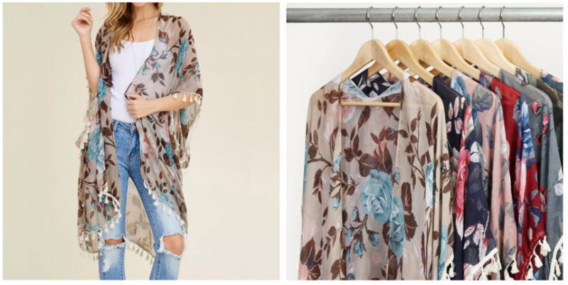 104c579b31cf5 Jane.com: Floral Tassel Kimono Cardigan Only $11.99 Shipped! (Super Cute)