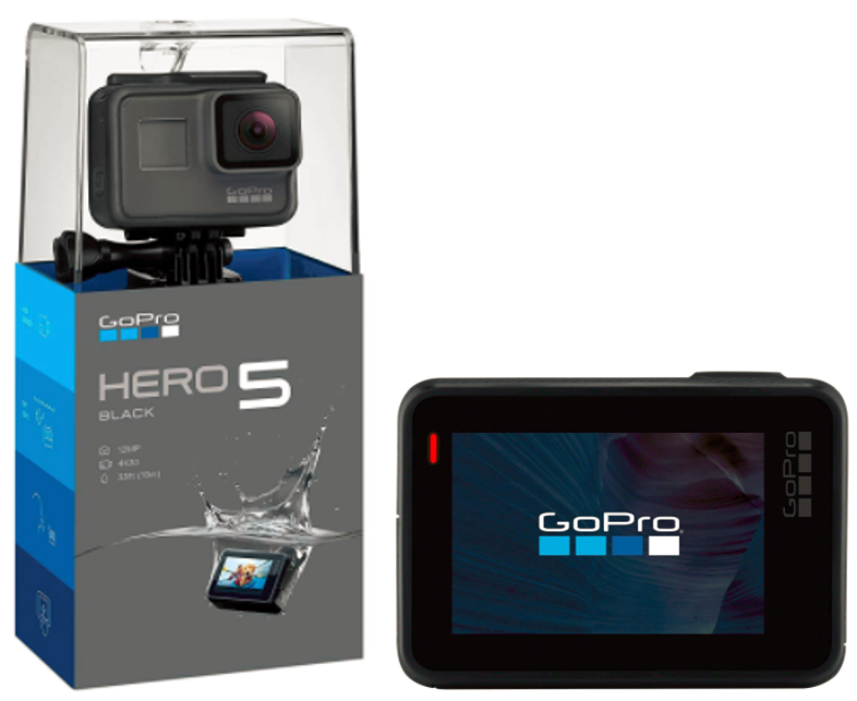 Walmart: GoPro HERO5 Action Camera + PNY microSD Memory Card