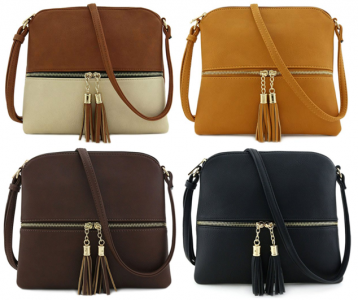 Amazon: Lightweight Medium Crossbody Bags As Low As $12.50! (#1 Best Seller)