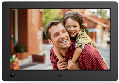 Amazon: 8″ Widescreen Hi-Res Digital Photo & HD Video Frame Only $67.99 (Best Price!)